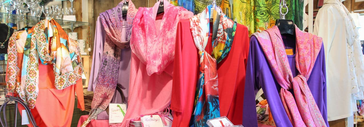 Mountain Mamas Clothing at Fife Gift Shop in Kent, Connecticut